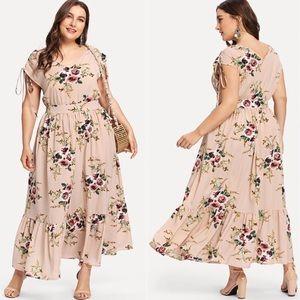 NWT Plus size Floral Maxi Dress